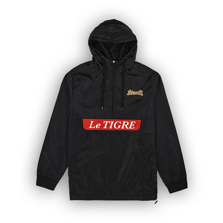 LE TIGRE BRIDGE ANORAK - BLACK - LA1-005-001
