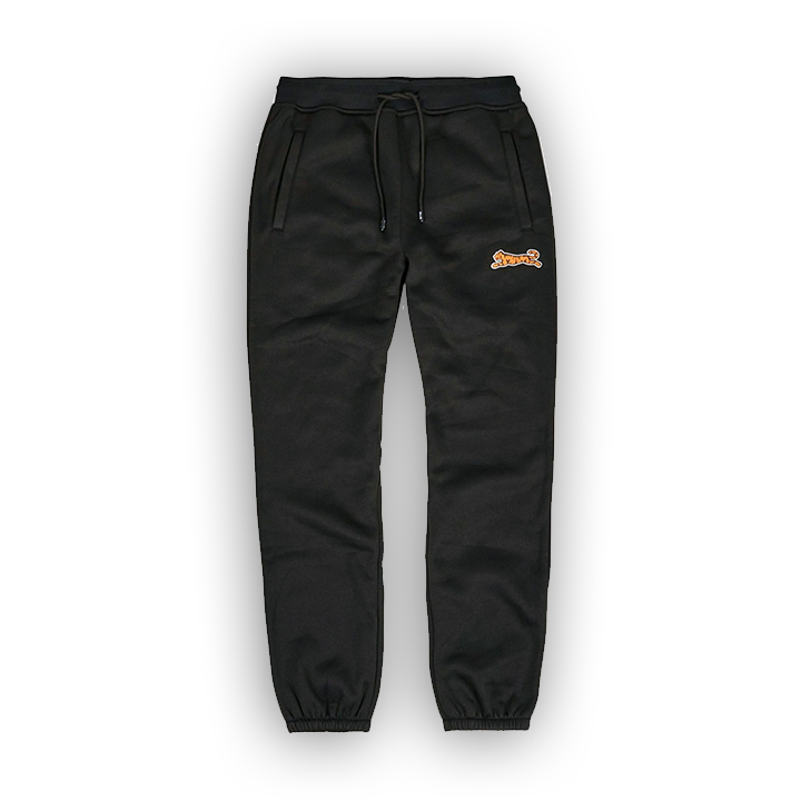 LE TIGRE BRIDGE JOGGER - BLACK - LA1-003-001