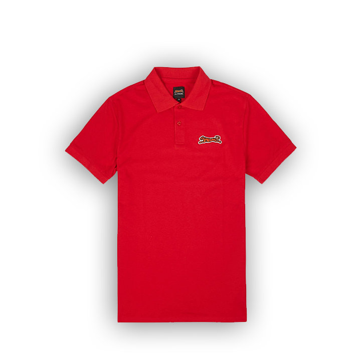 LE TIGRE BRIDGE POLO - RED - LA1-006-600